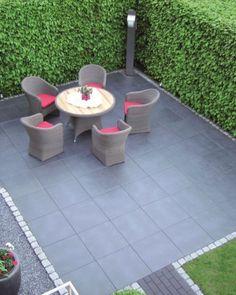 Großformatige Terrassenplatten In Moderner Optik Terrasse Pinterest - Gartenplatten 60x40