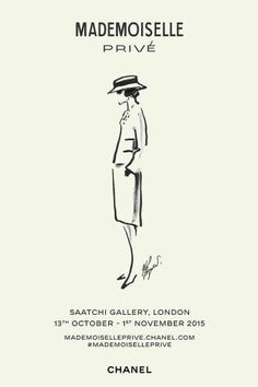Chanel exhibits in Saatchi Gallery. Click on the image to read more.