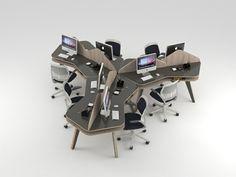 muebles de escritorio de oficina modular el hogar