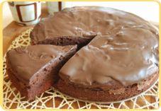 Recept voor Chocolade-kersentaart