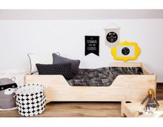Łóżko drewniane BOX 1