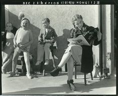 Judy Garland on the set of The Wizard of Oz, 1938