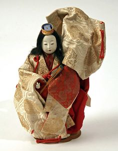 Doll    Date:      19th century  Culture:      Japanese  Medium:      silk  Dimensions:      [no dimensions available]  Credit Line:      Gift of Miss Marion Hague, 1949