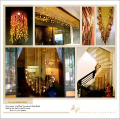High End Beaded Curtains from India  www.MemoriesofaButterfly.com