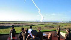 Corea del Norte difunde un video de la prueba de su nueva arma antiaérea (+Video)