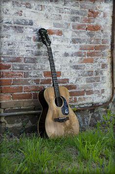 Epiphone Caballero Acoustic Guitar Photograph