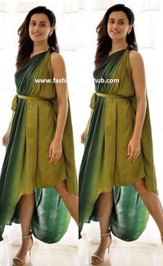 Taapsee Pannu in Urvashi Joneja   Fashionworldhub