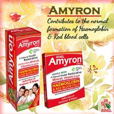 #Amyron: Contributes to the normal formation of #haemoglobin & #RedBoodCells.