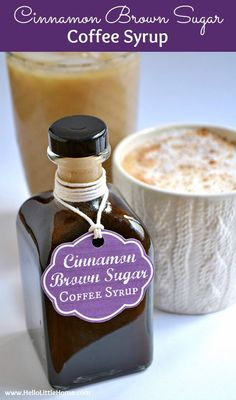 This delicious Cinnamon Brown Sugar Coffee Syrup is the perfect addition to your…
