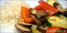 Gemüse-Reis-Pfanne (vegan)