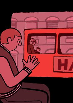 This Is the Modern World. Illustrations by Jean Jullien from his first solo show 'Allo?' http://www.justaplatform.com/jean-jullien/