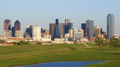 Downtown Dallas from the Trinity River - Dallas–Fort Worth metroplex - Wikipedia, the free encyclopedia Spain Travel, Hawaii Travel, Trinity River, Living In Dallas, River Park, Urban Park, Weather Underground, Travel Nursing, U.s. States