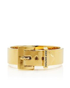 #fallfaves Juicy Couture Wide Buckle Bangle in Gold. $88. @Juicy Couture