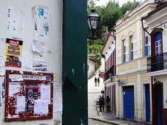 Ouro Preto foi a primeira cidade que eu conheci em que há quadros de avisos espalhados pelas ruas onde se coloca inclusive informativos dos falecidos dizendo quem era o que fazia e outras coisas