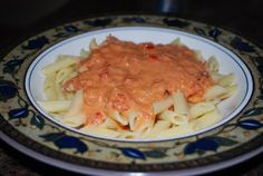 AmyRob's Penne with Vodka Sauce (not her blog)