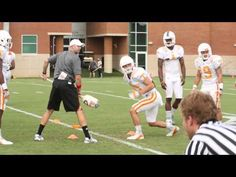 Florida WR Drills (stance, release, catching, ...)
