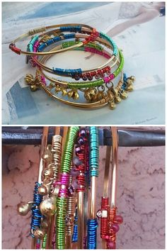 Gypsy Bangles 8 Piece Set bohemian Gypsy Style by TheBohemianGypsy, $58.00