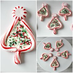Candy canes are not just for sucking on anymore! I had so much fun making these Candy Cane Christmas Trees this past weekend! They are such a cute treat and easy to make gift for the holiday's! It is unbelievable all of the adorable things that can be done by melting candy canes! It is …