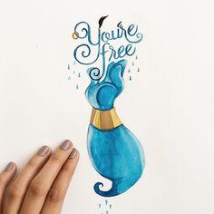 Instagram media by junedigann - Goodbye, Genie.