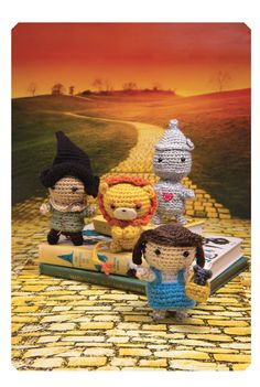 wizard of oz crochet - patterns from literary yarns crochet book