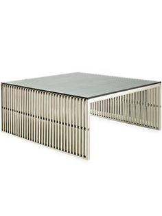 Gridiron Indoor/Outdoor Side Table from Living Room on Gilt
