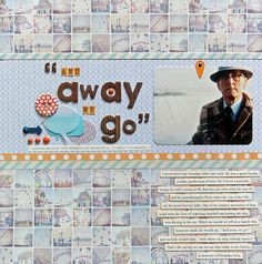 love this layout by @Jenn L larsen #scrapbooking #scrapbookingidea