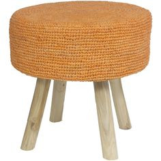 Natural teak branch legs combine with cheerful light orange, lending this raffia stool a sunny look to complement vibrant furnishings. Perfect for pairing with a favorite chair, it's perfectly sized for supporting tired feet. Shop Cottage Chic stools now. Decor, Crate Stools, Light Orange, Painted Furniture, Painted Stools, Raffia, Coastal Cottage Furniture, Stool, French Country Furniture