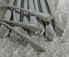 32 Pieces Oneida Chateau Flatware Stainless Steel Mixed Lot #Oneida