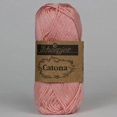Catona Old Rose 408 - Catona Bomuld