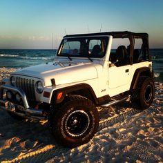 2002 Jeep Wrangler Sport, Grayton Beach, Florida