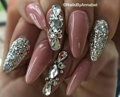 Love the color and the bling!