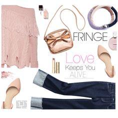 Shimmy Shimmy: Fringe by samra-bv on Polyvore featuring мода, Philosophy di Lorenzo Serafini, Stila and Chanel