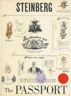The Passport by Saul Steinberg