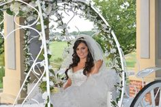 Wedding at Battleground Country Club with our Cinderella Carriage and Stacy our beautiful bride