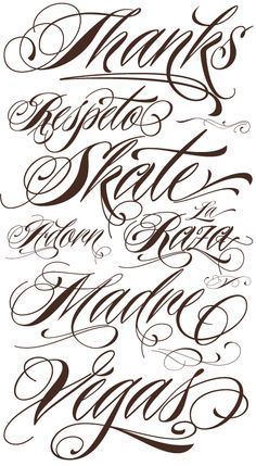 Nice tattoo font. I want this for my ankle tattoo