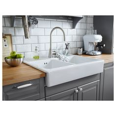 IKEA - ELVERDAM Kitchen faucet stainless steel color