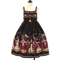 http://www.wunderwelt.jp/products/detail8594.html ♡ ALICE and the PIRATES ♡ Pattern of Electric Circus moonlit night dream, JSK type2 Overseas shipping possibility! #gothic