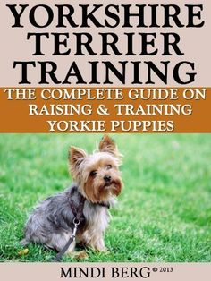 Yorkshire Terrier Training: Breed Specific Puppy Training Techniques, Potty Training, Discipline, and Care Guide by Mindi Berg. $2.99