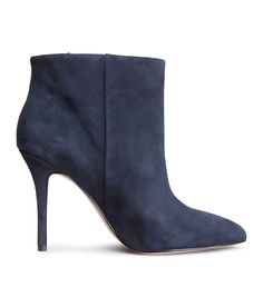 @hm Suede ankle boots