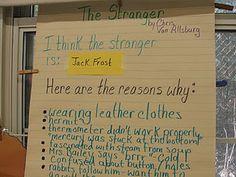 """Inferring: using """"The Stranger"""" by Chris Van Allsburg"""
