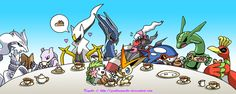 Legendary Tea Party by GenkoNoMiko