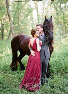 2015 Color of the Year: How to Pull Off a Marsala Colored Wedding - Clayton Austin