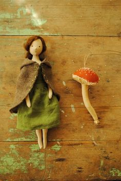 Handmade doll by Willowynn (Margeaux Davis)