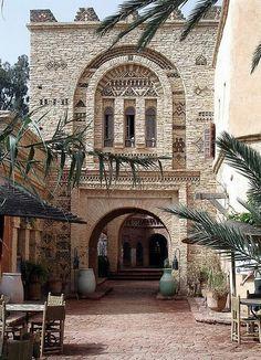 Vieille ville d'Agadir, Maroc
