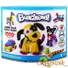 Bunchems Jumbo Pack - Create and play with Bunchems! These colourfull balls squish, connect and stick to eachother easily to make beautiful creations. With over 1000 pieces, create endless possibilities and works of art! Mega Pack, Adult Crafts, All Toys, Creative Play, Kids Store, Craft Kits, Gifts For Kids, Art For Kids, Arts And Crafts