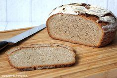 Hier kommt Paul.....   Es war heute mal wieder Zeit, das zur Zeit von meiner Familie heißgeliebte Brot zu backen.  Wir haben es Paul getauf...