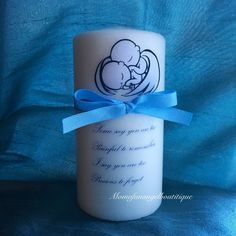Twin Angel Babies Memorial Candle Pregnancy And Infant Loss by momofanangelboutique on Etsy https://www.etsy.com/listing/261596067/twin-angel-babies-memorial-candle