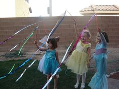 Fairy Party Ribbons « kids party themes, birthday party ideas, party recipes, party games – The Speckled Freckle Party Place