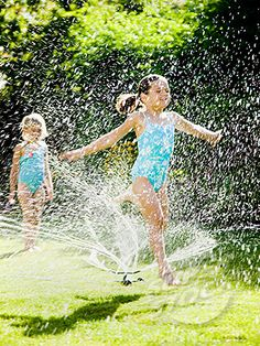 sprinkler fun!