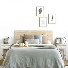 Room Makeover, Home Bedroom, Bedroom Interior, House Rooms, Home Decor, Small Room Bedroom, Home Deco, Bedroom Bed Design, Mint Rooms